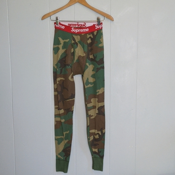 Supreme Other - Supreme Camo Hanes Beefy Thermals